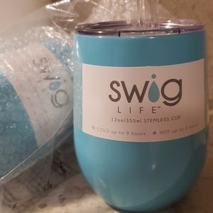 SWIG Stemless Insulated Wine Tumblr